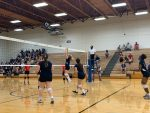 Girls S.C. Lee Jr High 7th Blue Volleyball beats Lake Belton 2 – 0