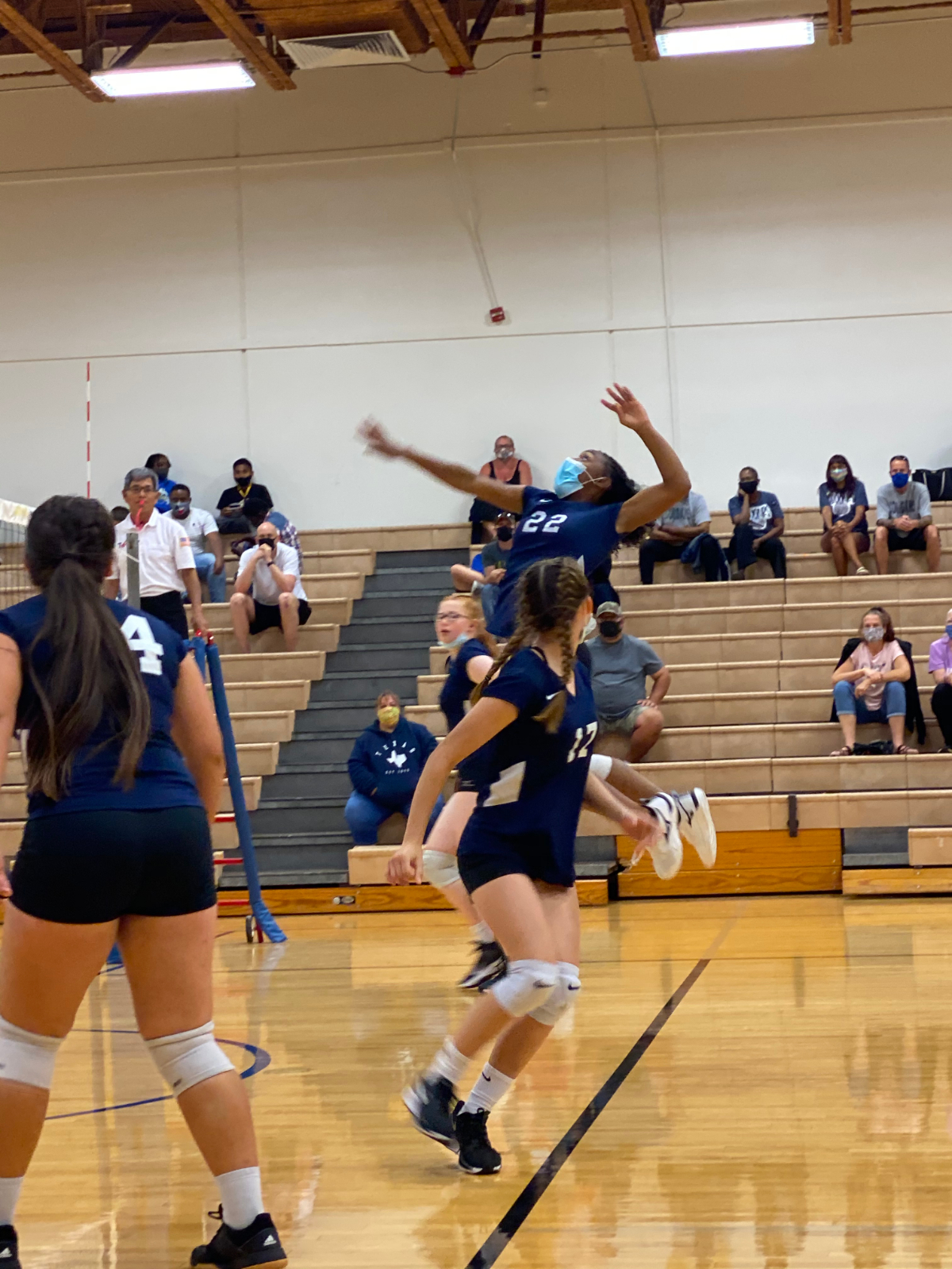 Lady Cougars Go 3-1 Against North Belton At Home