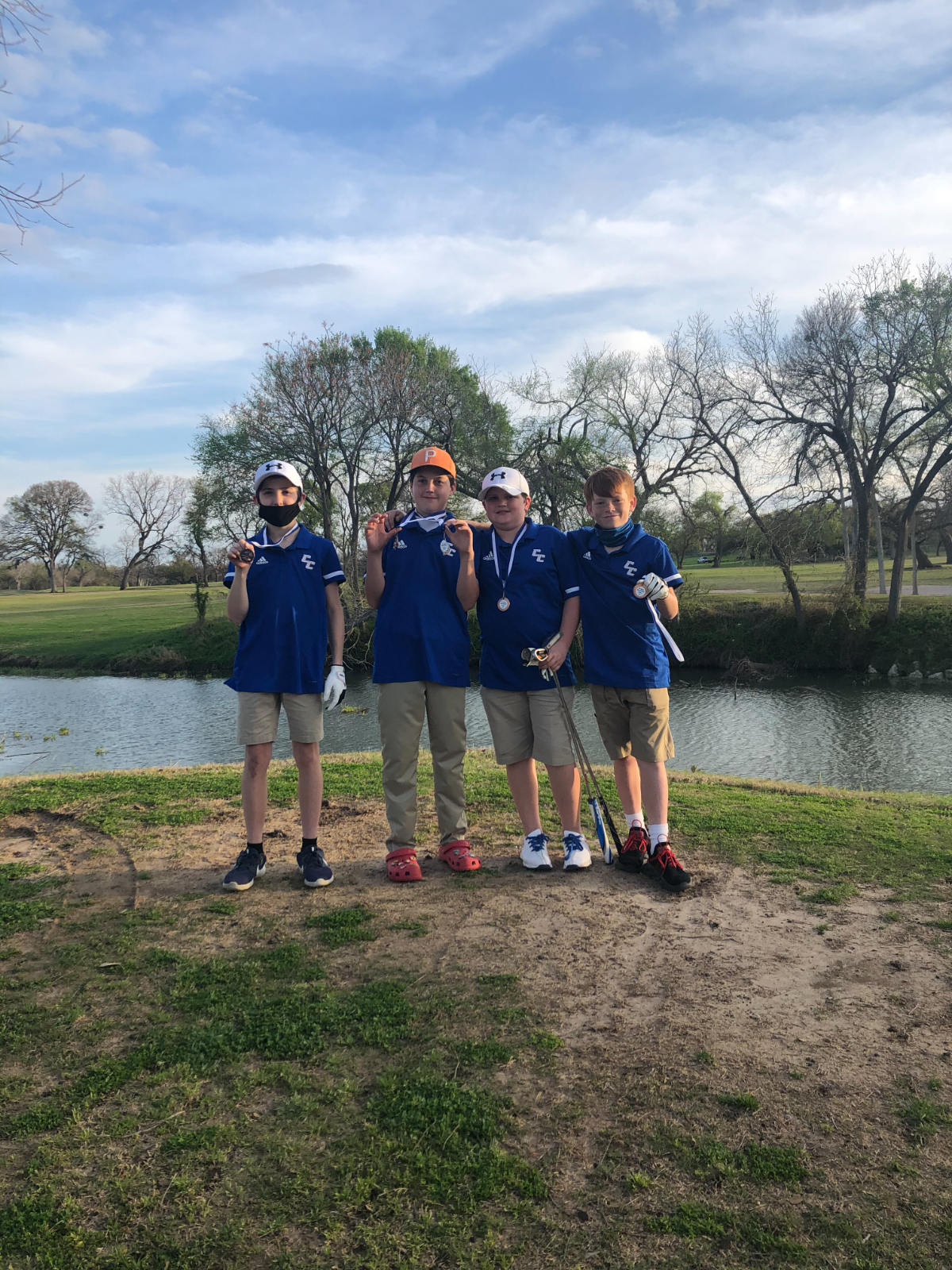 Cove Junior High Golf Places 3rd In Lampasas Tournament
