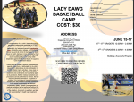 Lady Dawg Basketball Camp is Here!!!