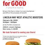 Dine & Donate at Portillo's 2/26!