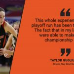 Warrior Spotlight Taylor Gugliuzza