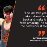 Warrior Spotlight: Payton Geigner