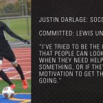 Justin Darlage Commits To Lewis University @LewisFlyers