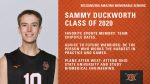 Class of 2020 Warrior Senior Spotlight: Sammy Duckworth-Volleyball