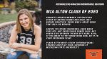 Class of 2020 Warrior Senior Spotlight: Mia Alton-Lacrosse