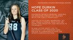 Class of 2020 Warrior Senior Spotlight: Hope Durkin-Lacrosse