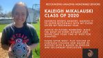 Class of 2020 Warrior Spotlight: Kaleigh Mikalauski-Committed to Play Soccer at Carthage College