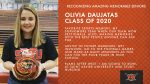 Class of 2020 Warrior Spotlight: Olivia Daujatas Committed to Bowl at Saint Xavier University