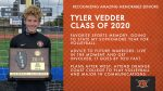 Class of 2020 Warrior Spotlight: Tyler Vedder-Soccer, Committed to Play Volleyball at Orange Coast College