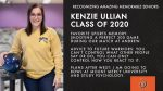 Class of 2020 Warrior Spotlight: Kenzie Ullian Committed to Bowl at Mount Mercy University