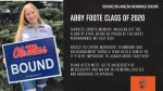 Class of 2020 Warrior Spotlight: Abby Foote-Fall Dance, Competitive Dance