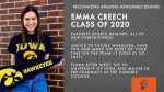 Class of 2020 Warrior Spotlight: Emma Creech-Fall Dance, Competitive Dance