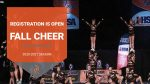 Fall Registration for Cheerleading is Open!