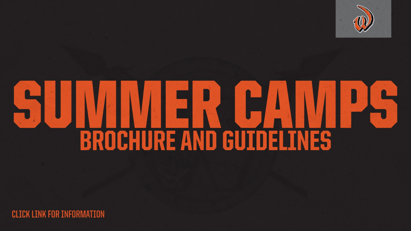 Summer Camp Updates and Information