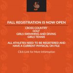 Fall Registration is Open~Click Link For More Information