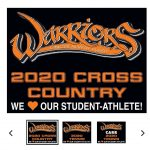Fall sports yard signs are available now. Be sure to get yours soon!