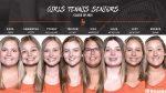 The Warrior Tennis Team Celebrates 8 Seniors Today!