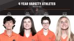 We would like to recognize our 4 year varsity athletes from Boys & Girls Golf. Zack Phelps, Grace Ruhnke, Polly Ruhnke & Kaitlyn Valiska