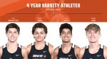 We would like to recognize our 4 year varsity athletes from boys cross country! Jack, Robert, Nick & Bobby