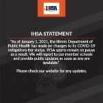IHSA Statement-Be sure to check our website and social media sites for updates.