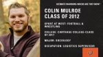 Colin Mulroe was our Ultimate Warrior in 2012 #WhereAreTheyNow