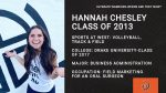 Hannah Chesley was our Ultimate Warrior in 2013 #WhereAreTheyNow