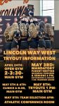Interested in being part of the Warrior Cheerleading Team? Tryouts for next year are right around the corner! Twitter: @LW_WestCheer