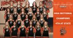 Congratulations to the Varsity Competitive Dance Team- 4th Place at State, IHSA Sectional Champions!