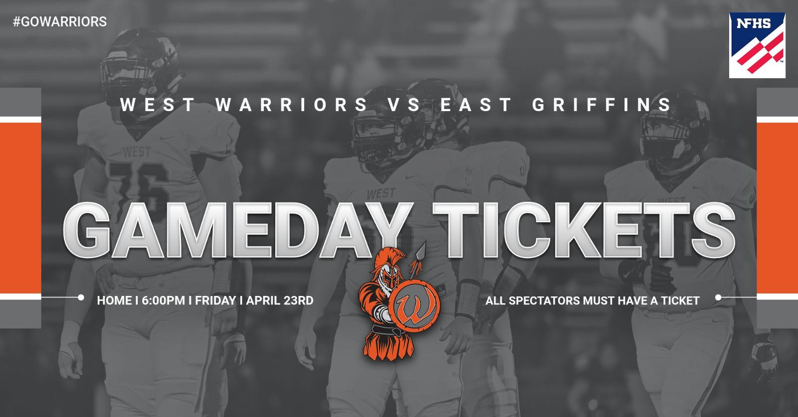 Gameday Tickets Warriors vs Griffins