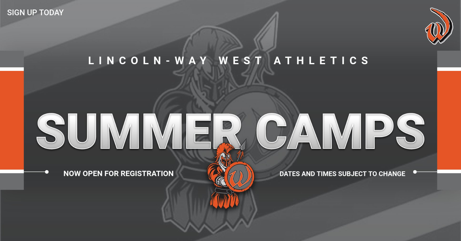 2021 Summer Camps Are Now Open For Registration
