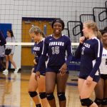Varsity Volleyball falls to Bluffton 3 – 0