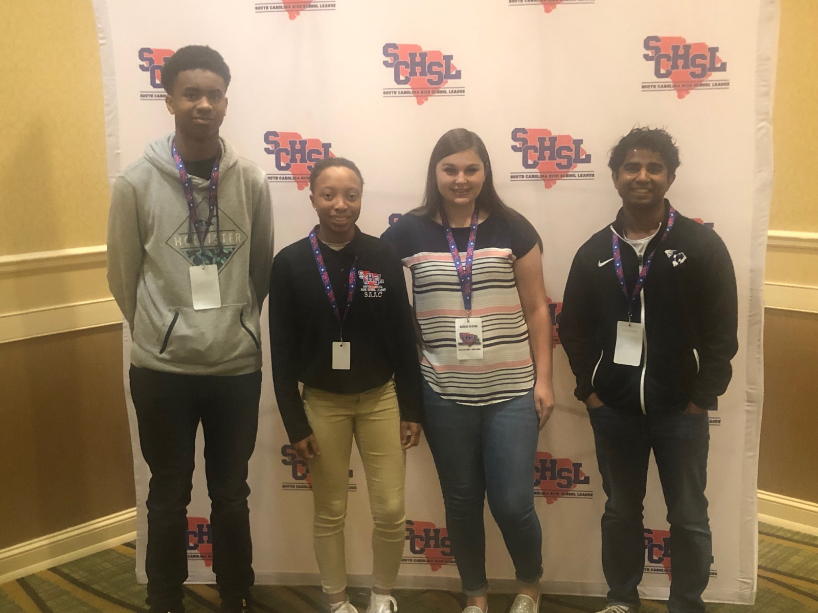 Cougars Represent at SCHSL Youth Leadership Summit.