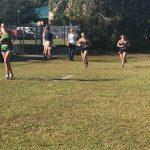 Lady Cougars run the Region Meet