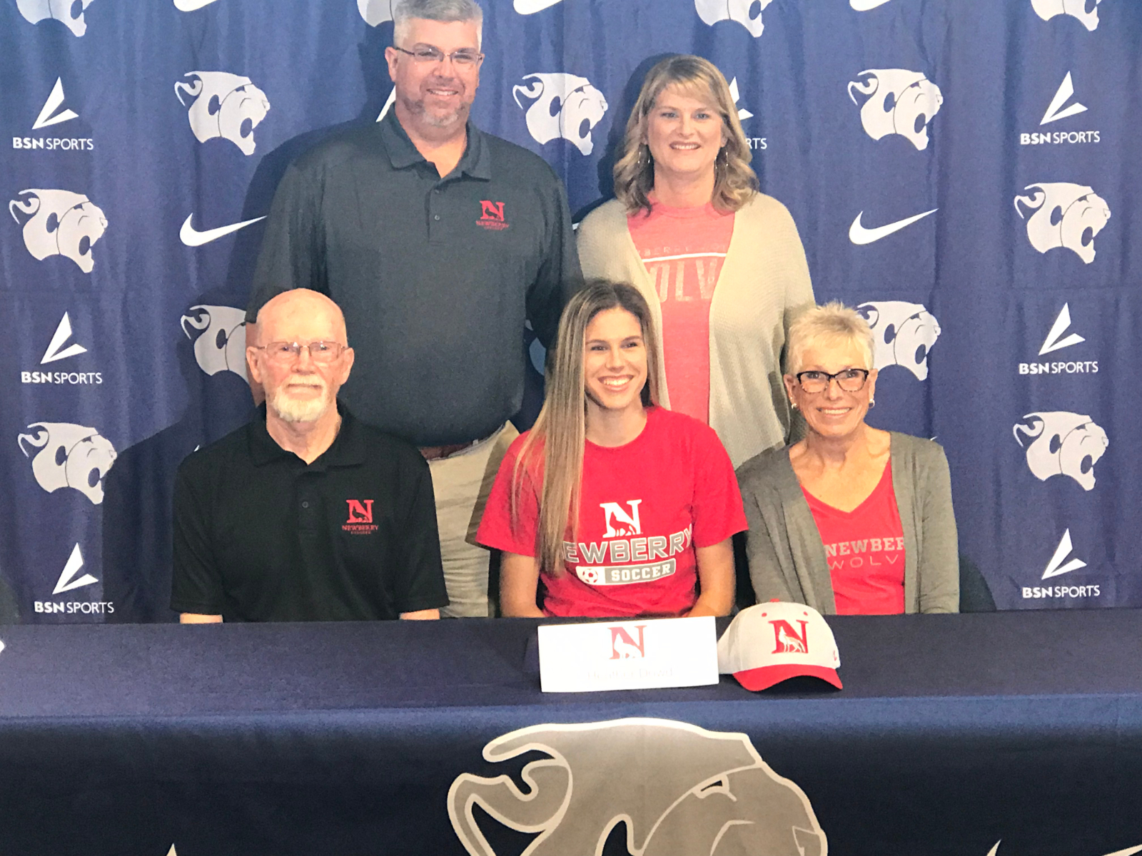 NLI Signing – Heather Dowd