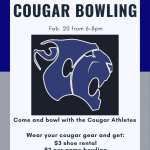 Cougar Bowling Night @ Lowcountry Lanes