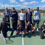 Boys Varsity Tennis team dominates at Barnwell