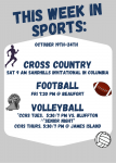 This Week in Sports: October 19th-24th