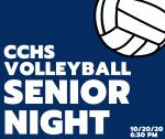 CCHS Volleyball Senior Night is TONIGHT!!!