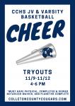 JV & Varsity Basketball Cheer Tryouts: 11/9-11/12