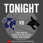 Live Stream Tonight's Home Game: CCHS Basketball vs Bluffton