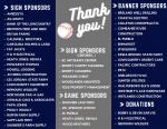 Thank You, CCHS Baseball Sponsors!