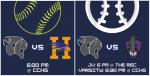 Varsity Softball and JV & Varsity Baseball @ HOME Tonight!