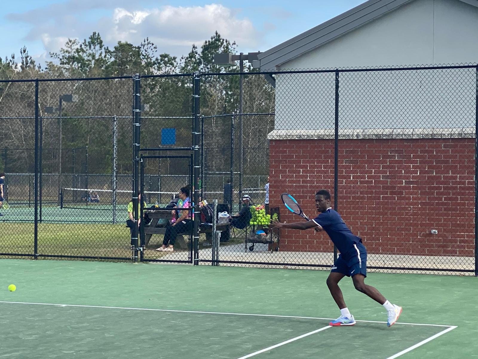 Tennis vs. Bluffton 3/23/21