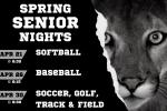 Spring Sports: Senior Nights!