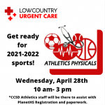 Athletics Physicals and PlanetHS Registration
