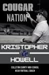 CCHS Announces Head Football Coach: Kristopher Howell