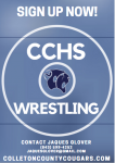 SIGN UP NOW: CCHS WRESTLING!