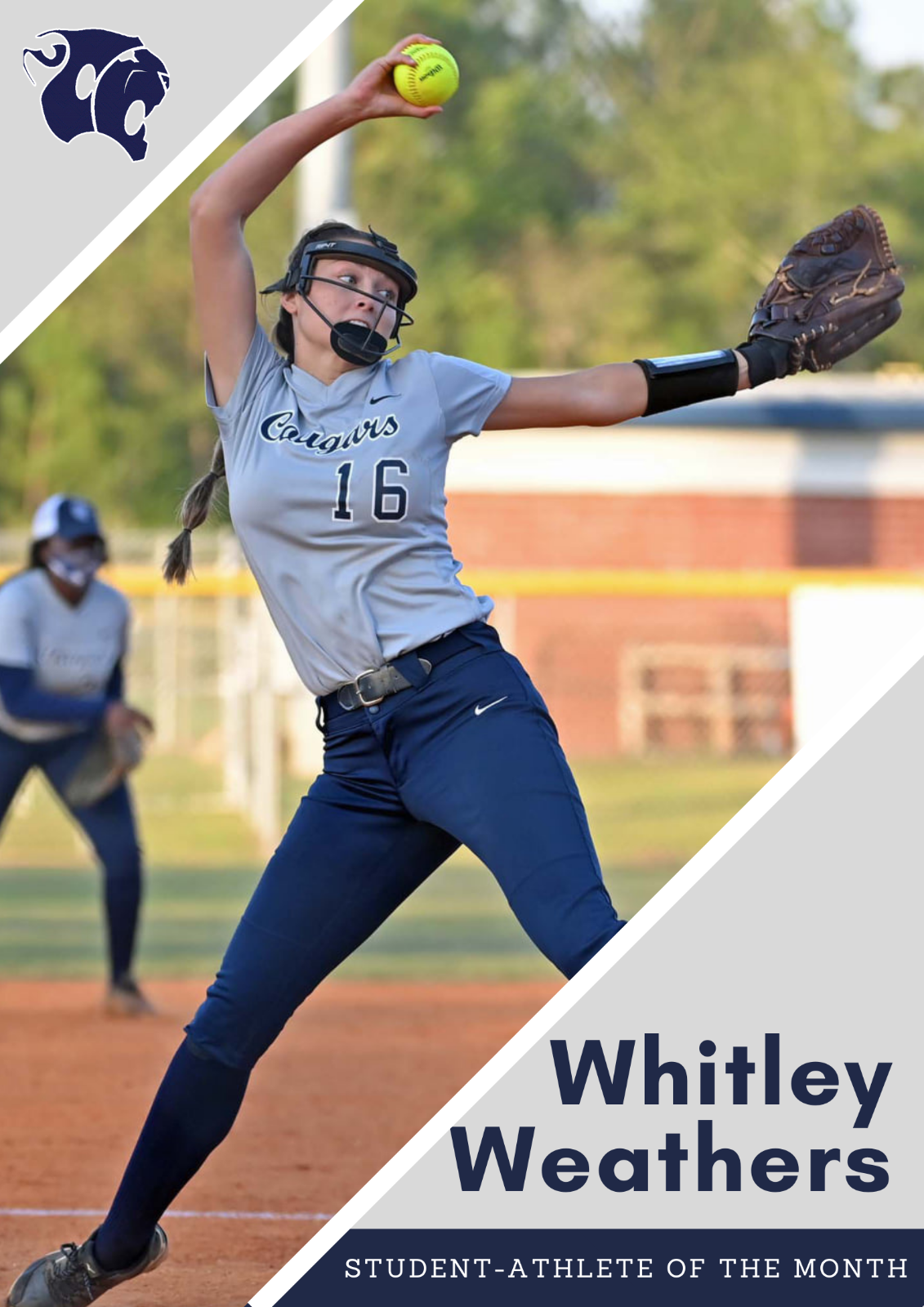 Female Student-Athlete of the Month: Whitley Weathers