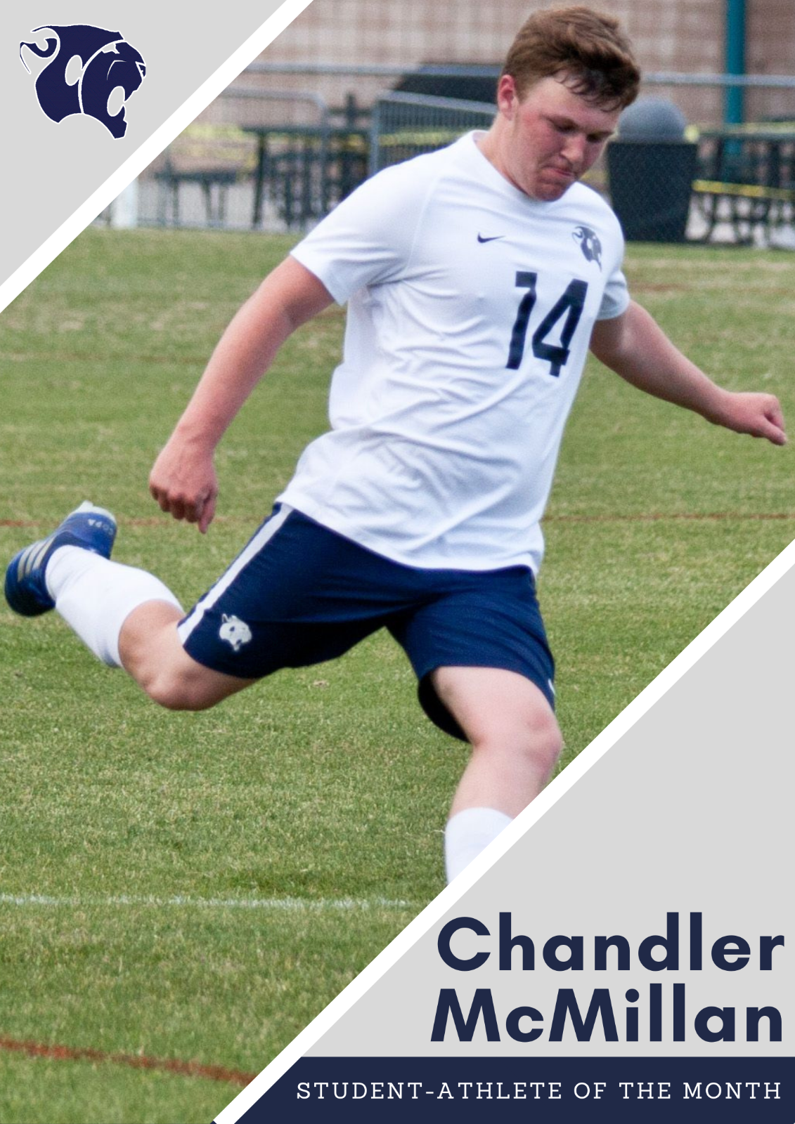 Male Student-Athlete of the Month: Chandler McMillan